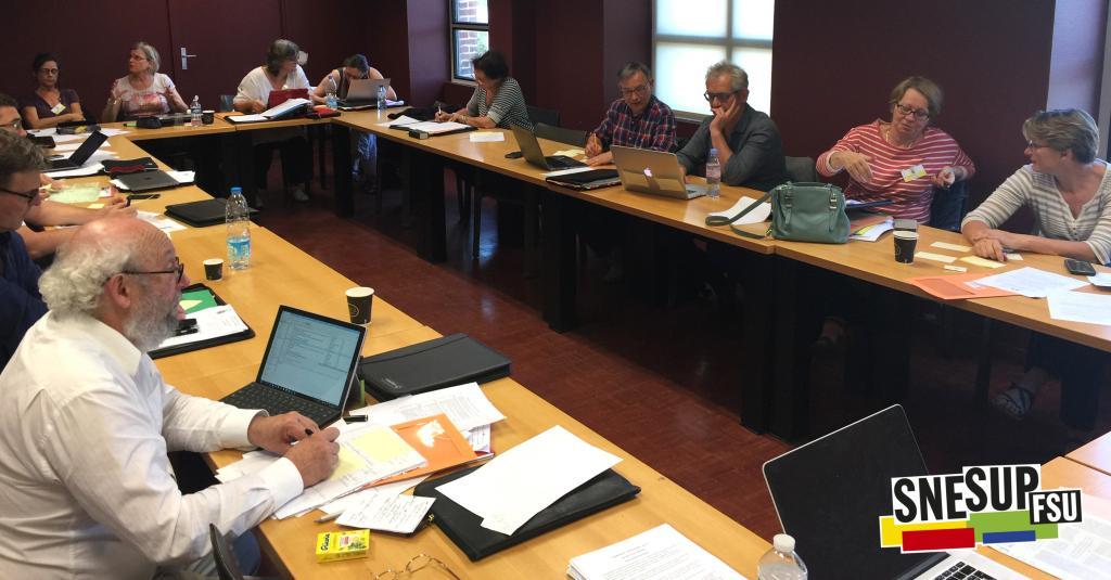 Commission du thème 1 : « Les transformations du travail » - Congrès d'étude du SNESUP-FSU à Roubaix - 19-20-21 juin 2018