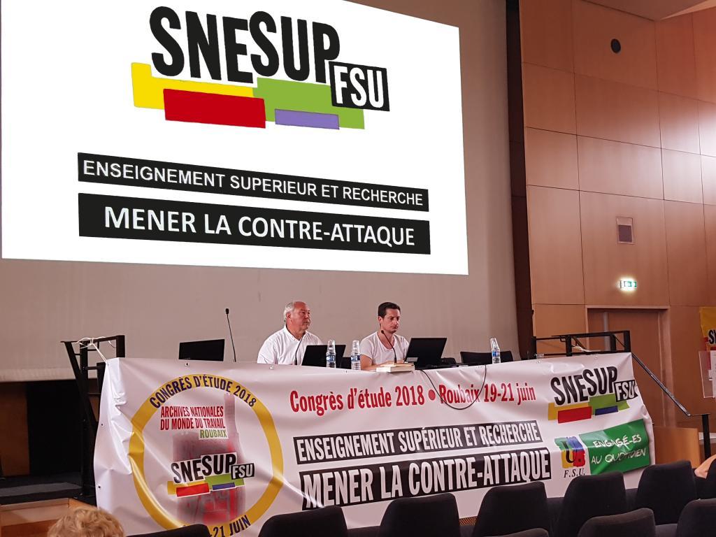 Commission du thème 3 : « Impact des appels à projets sur la recherche et l'offre de formation » - Congrès d'étude du SNESUP-FSU à Roubaix - 19-20-21 juin 2018