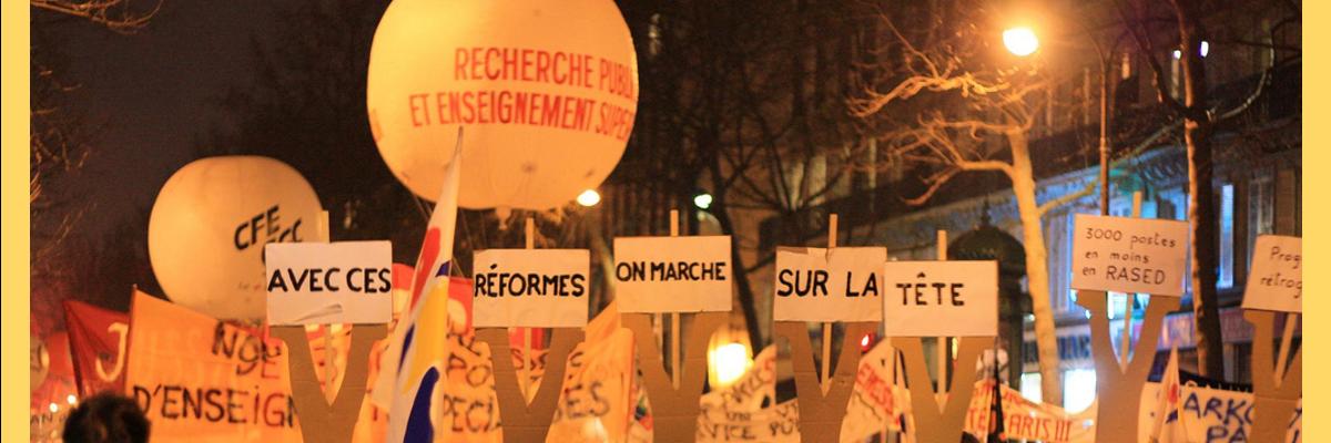 © YUPA - Manif ESR 29 janvier 2009 - PARIS