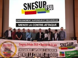 Congrès d'étude du SNESUP-FSU à Roubaix - 19-20-21 juin 2018